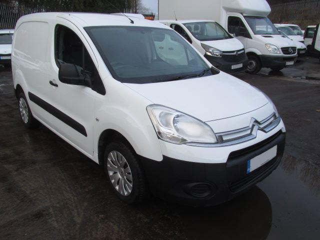 funding for a new van like citroen berlingo