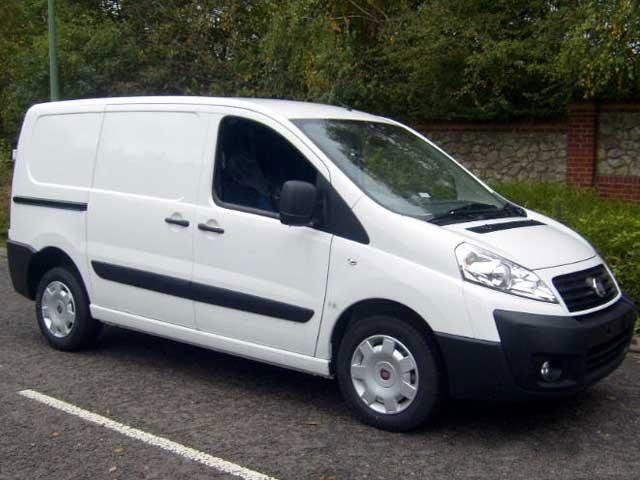 fiat scudo average credit van finance deals