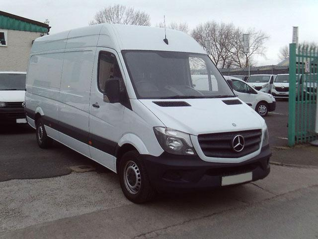 mercedes sprinter van finance deals