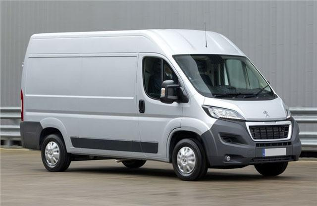 peugeot boxer van guaranteed finance